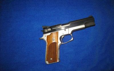 S&W M645 45acp SP GRAVE PERFORMANCE CENTER (Prototype745)(COLLECTION)