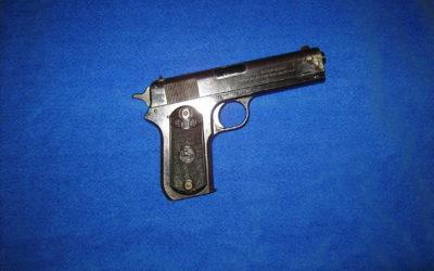 Pistolet colt 38acp Modèle 1903 pocket hammer (1914)